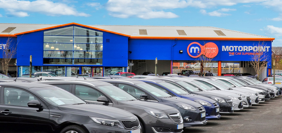 Motorpoint Widnes, Used Car Supermarket, Nearly New Cars