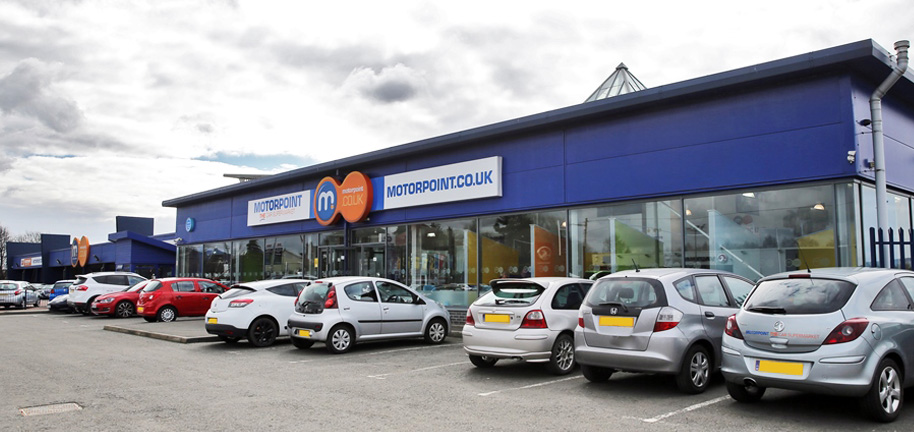 Motorpoint Glasgow Used Car Supermarket Nearly New Cars For Sale - Green isle park car show