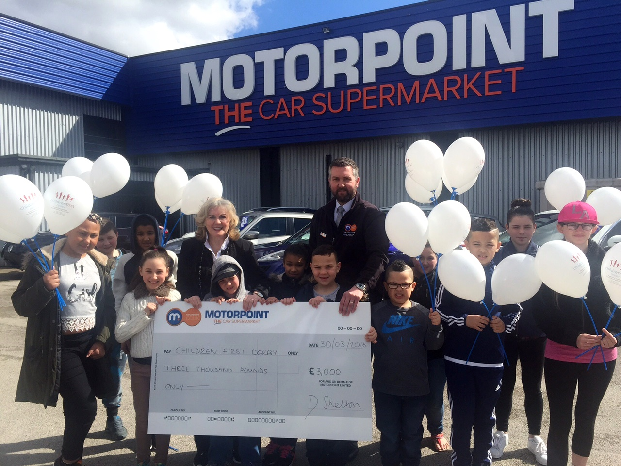 Motorpoint is backing the Children First Derby Ball at the iPro Stadium in October