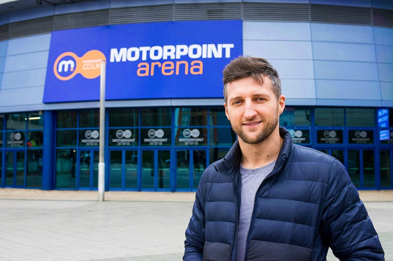 Ex-World Champion Carl Froch opens the new Motorpoint Arena Nottingham