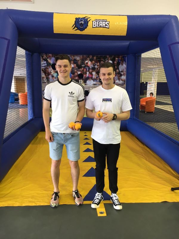 Cricket fans tested their bowling skills at Motorpoint on the Birmingham Bears Bowlathon (7)
