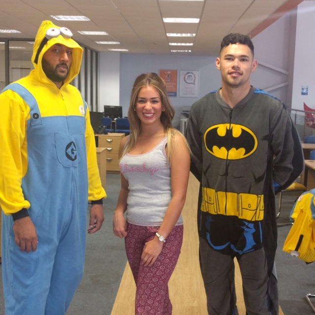 Motorpoint Birmingham dressed up as superheroes for the anniversary celebrations (3)