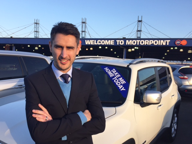 Chris Brown, the newly-appointed General Manager of Motorpoint in Newport