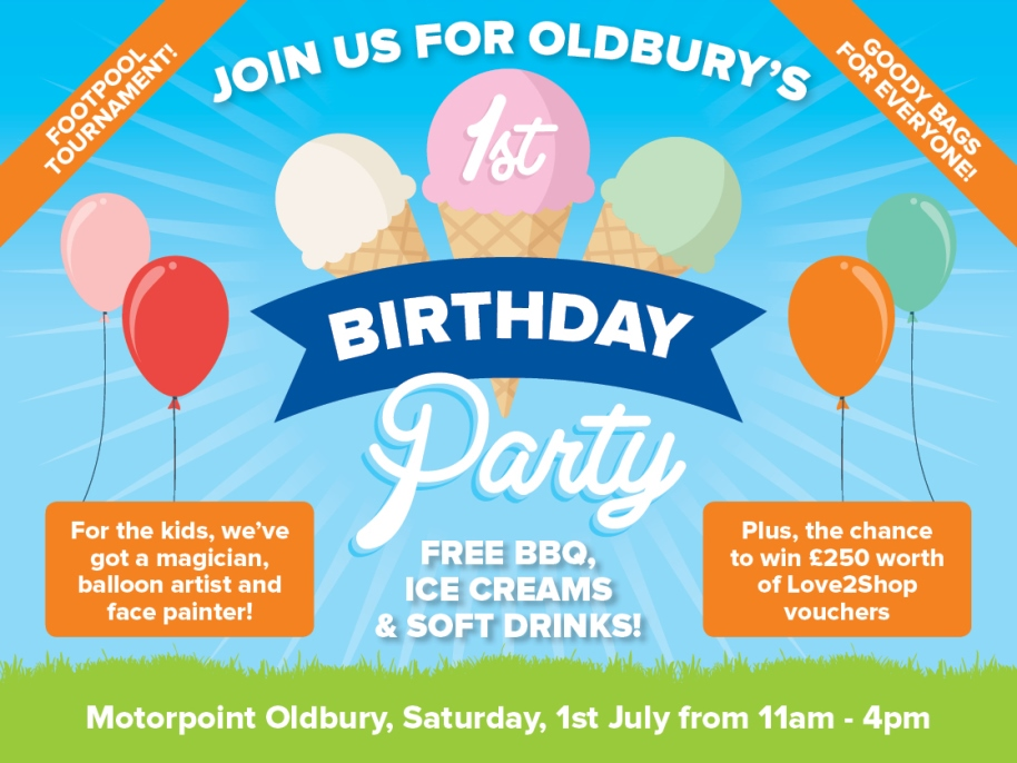 Motorpoint is planning a family fun day to celebrate its first anniversary on July 1