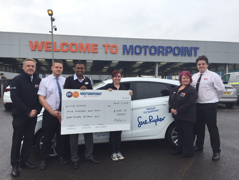 Great Motorpoint Bake Off raises money for Sue Ryder in Peterborough