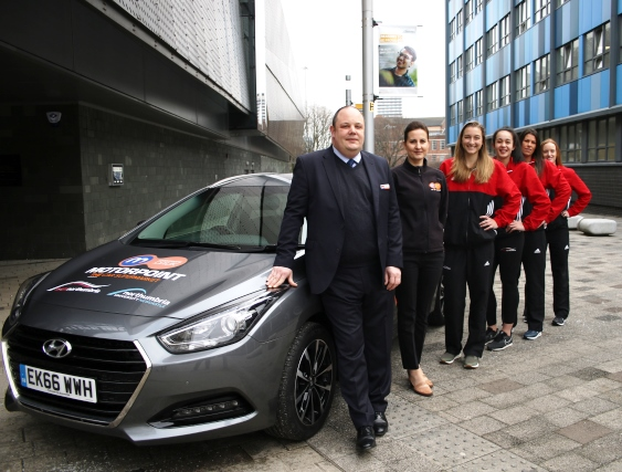 Motorpoint extends partnership with Team Northumbria