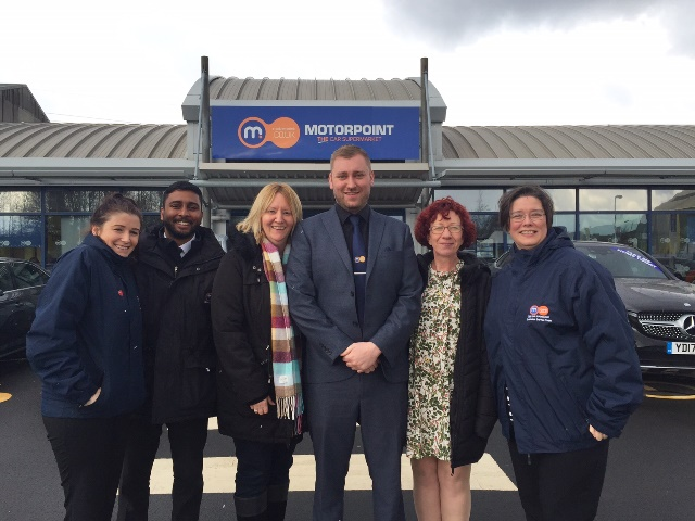 Motorpoint partners with Sandwell Parents for Disabled  Children
