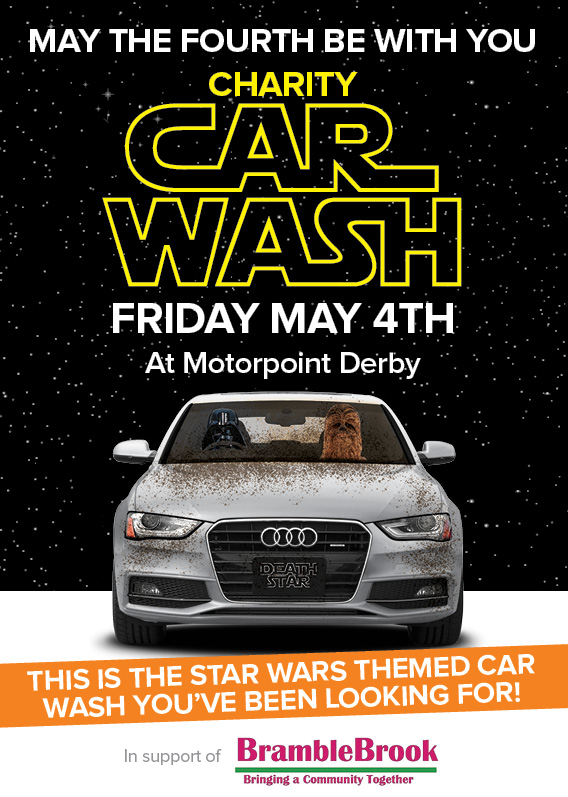 Motorpoint hopes to clean up for local charity with themed car wash