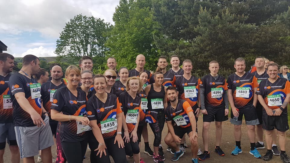 Motorpoint Burnley staff take part in Burnley 10K for Lancashire Mind