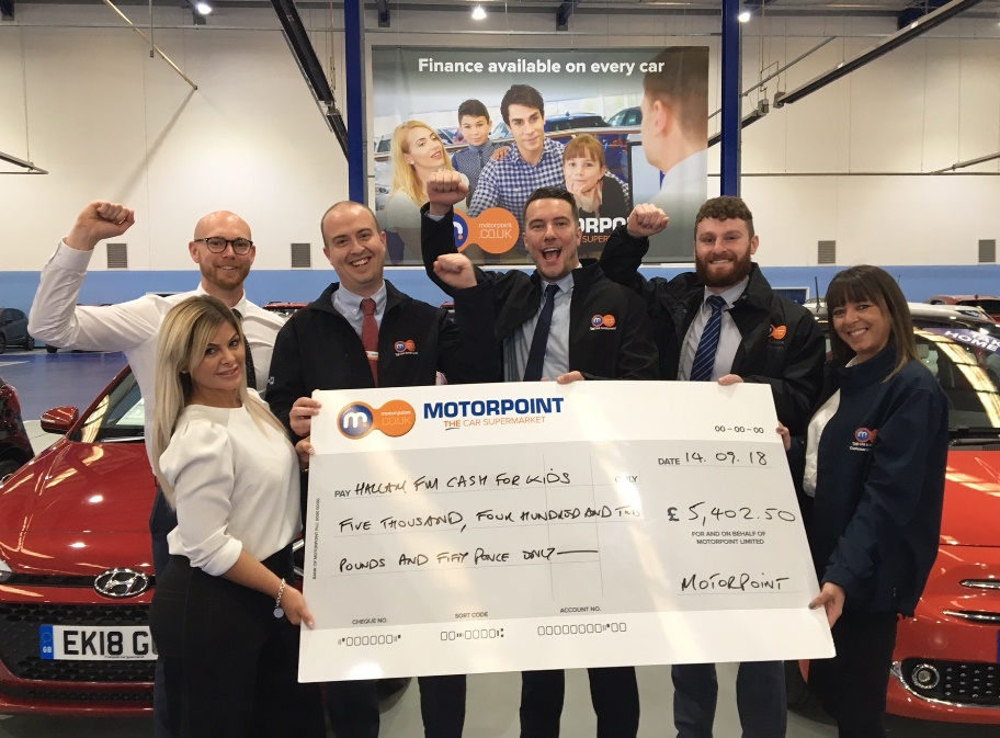 Motorpoint Drive In Cinema raises over £5,000 for charity