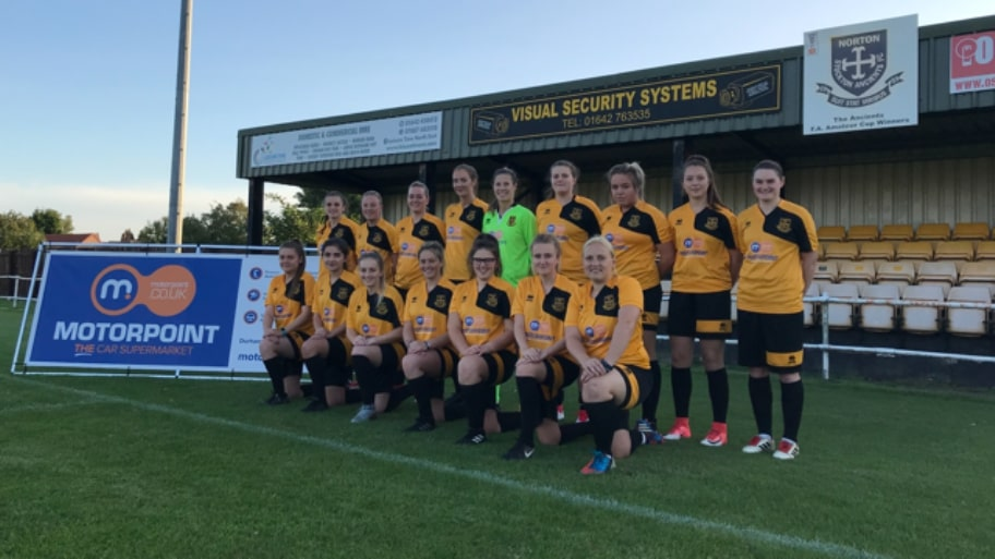 Motorpoint backs Norton Ladies FC for a second season