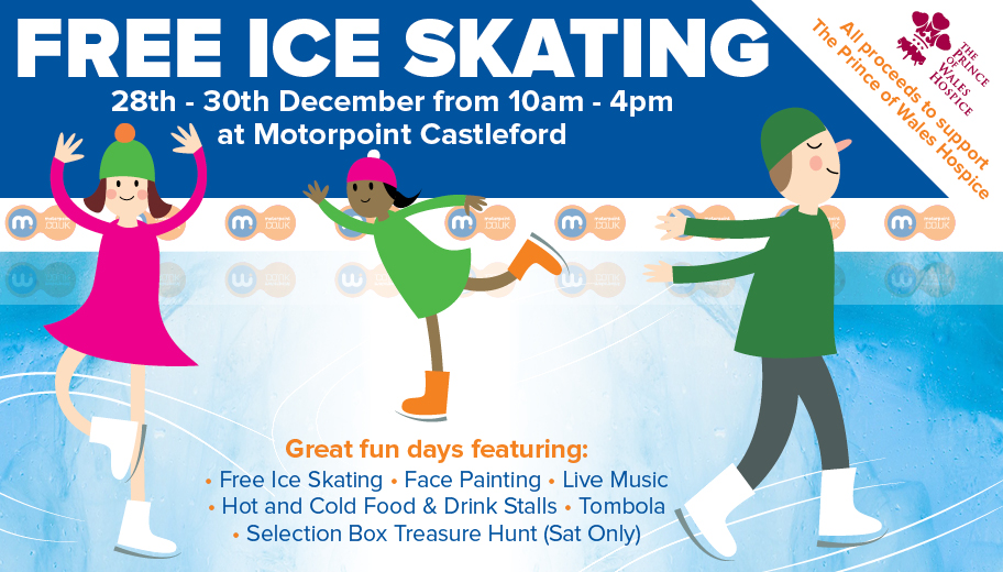 Get your skates on to Castleford for free ice skating