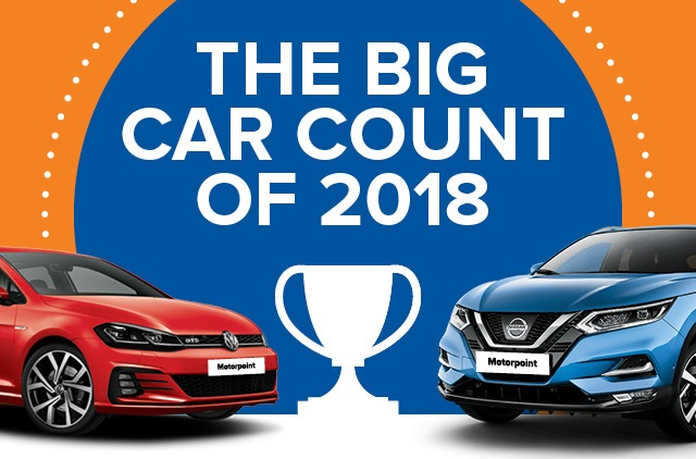 Nissan Qashqai proves to be 2018's favourite car for Motorpoint customers