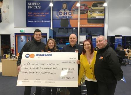 Motorpoint Ice Skating raises money for Prince of Wales Hospice
