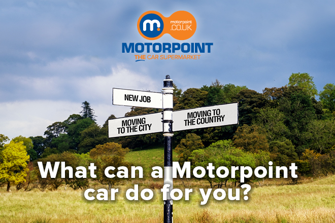What can a Motorpoint car do for you?