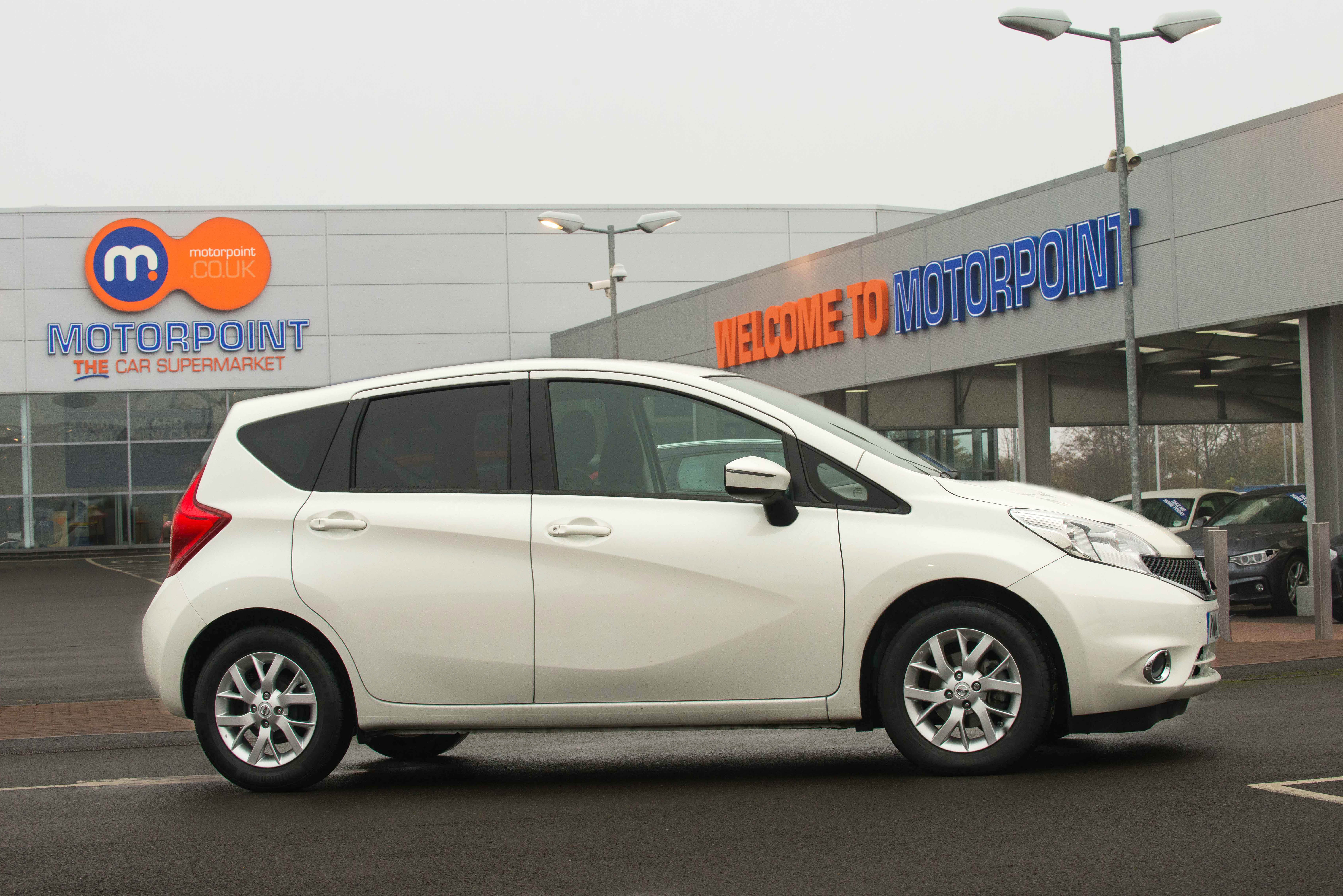 Used Nissan Note Cars For Sale | Motorpoint
